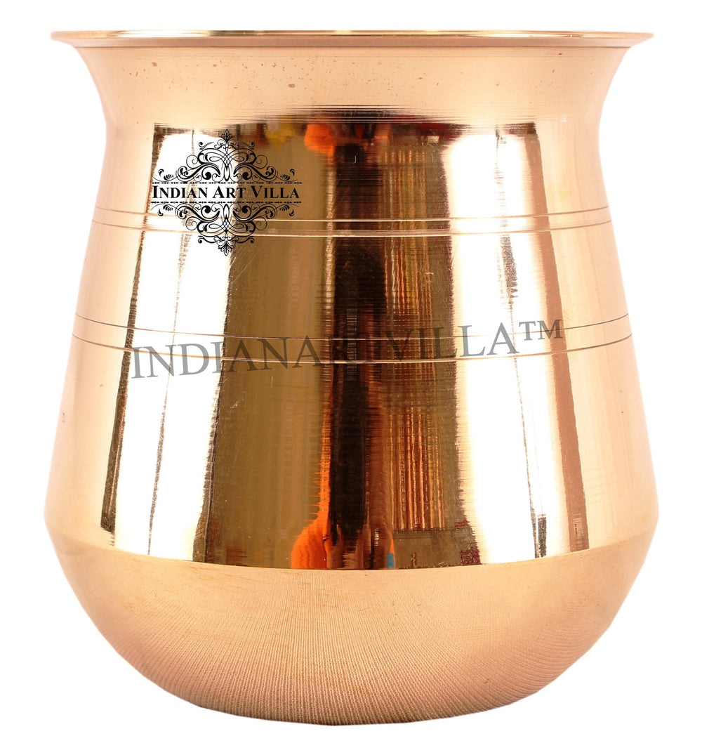 Bronze Small Lining Design Lota -300 ML