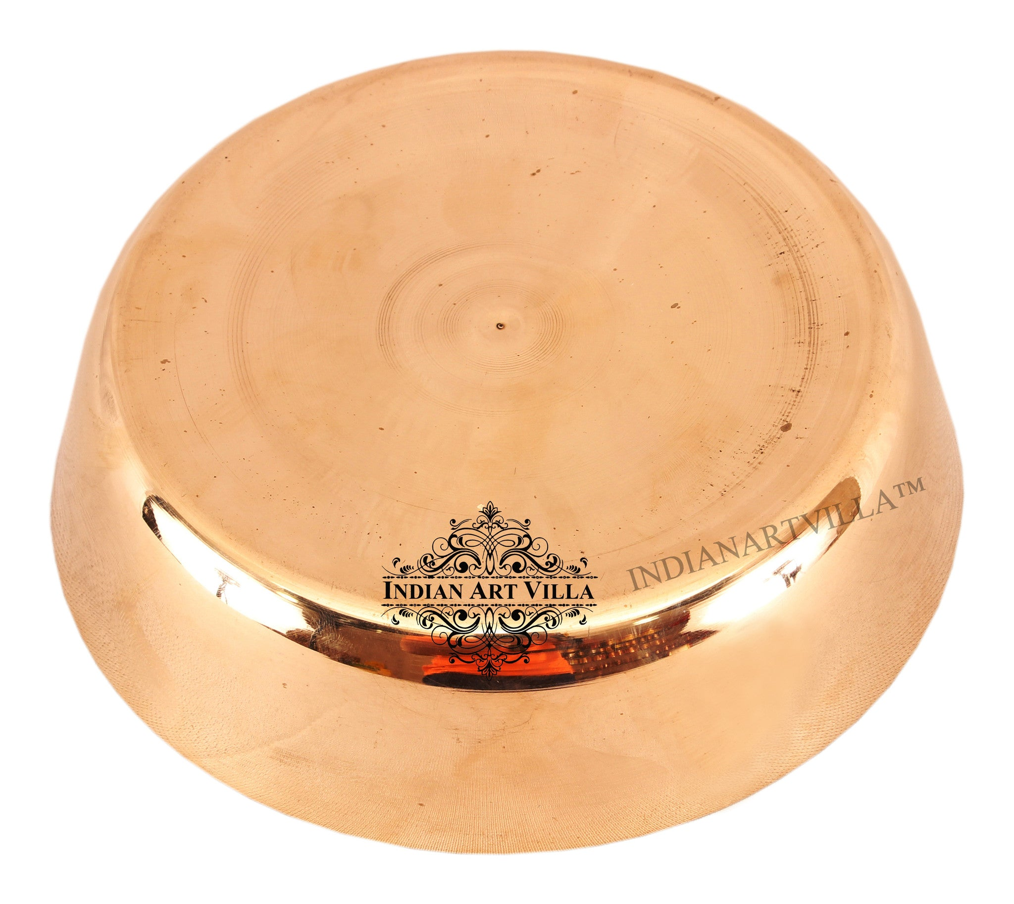Bronze Plain Design Dinner Bowl