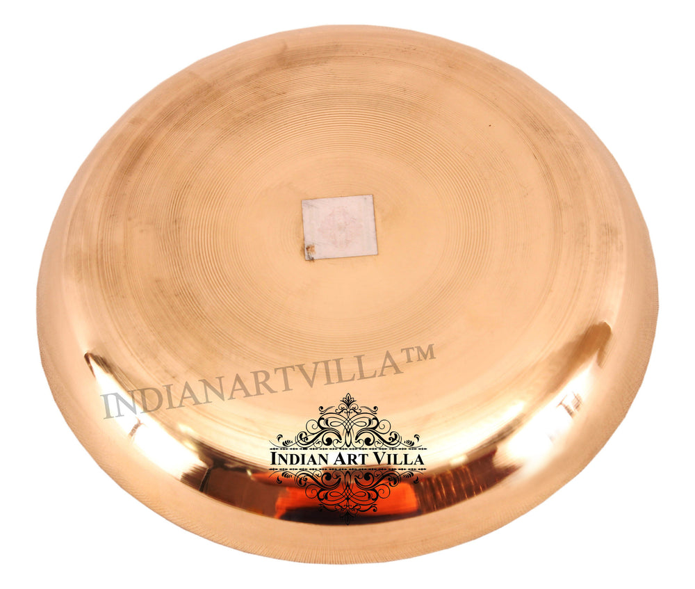 Bronze Serving Thali Plate ( 5 Sizes )