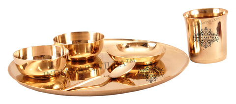 IndianArtVilla Best Quality 6 Piece Dinner Set