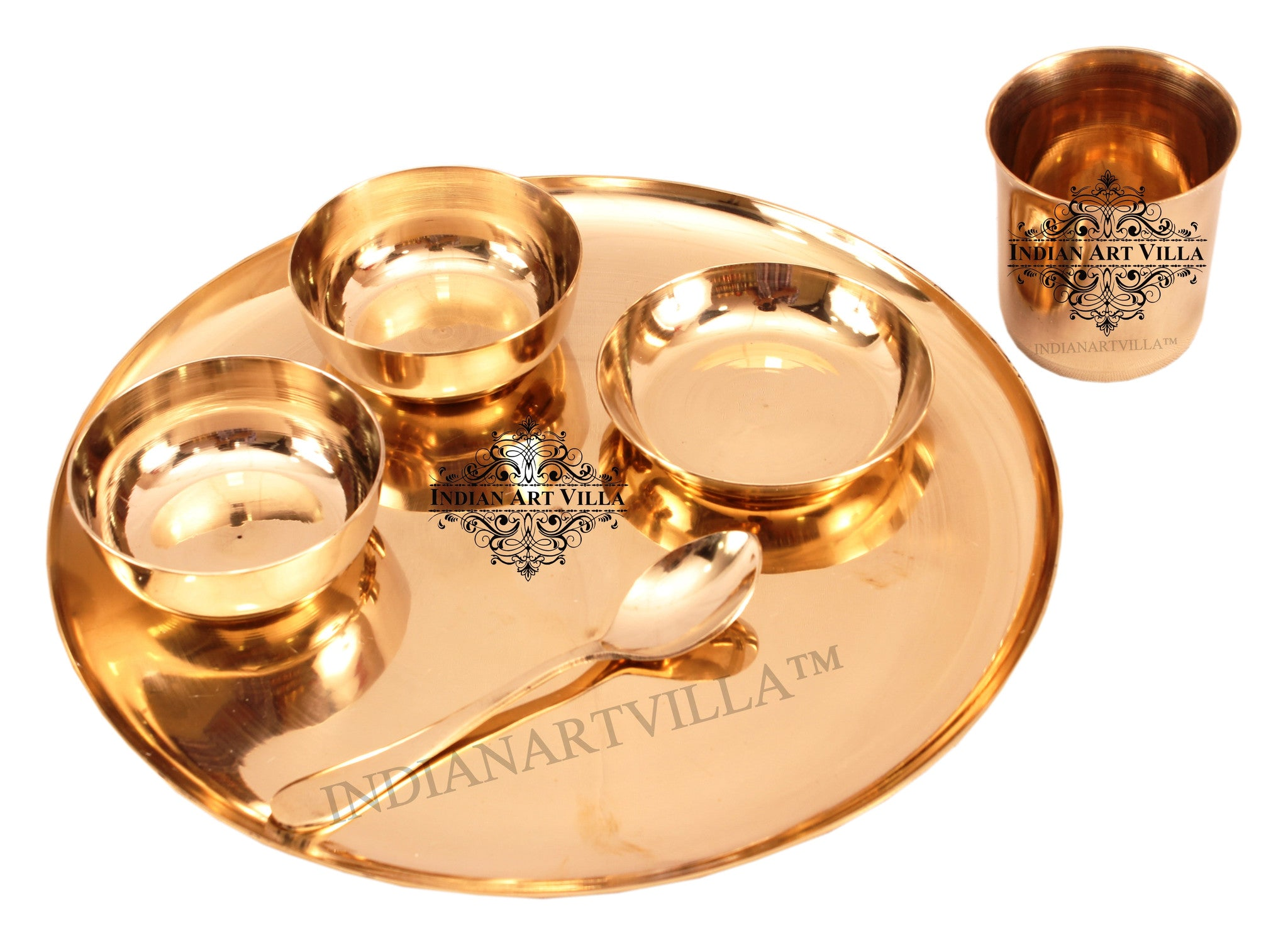 Bronze Best Quality Handmade 6 Piece Dinner Set