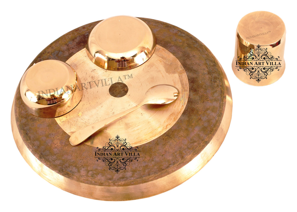 Bronze Designer 5 Piece Dinner Set