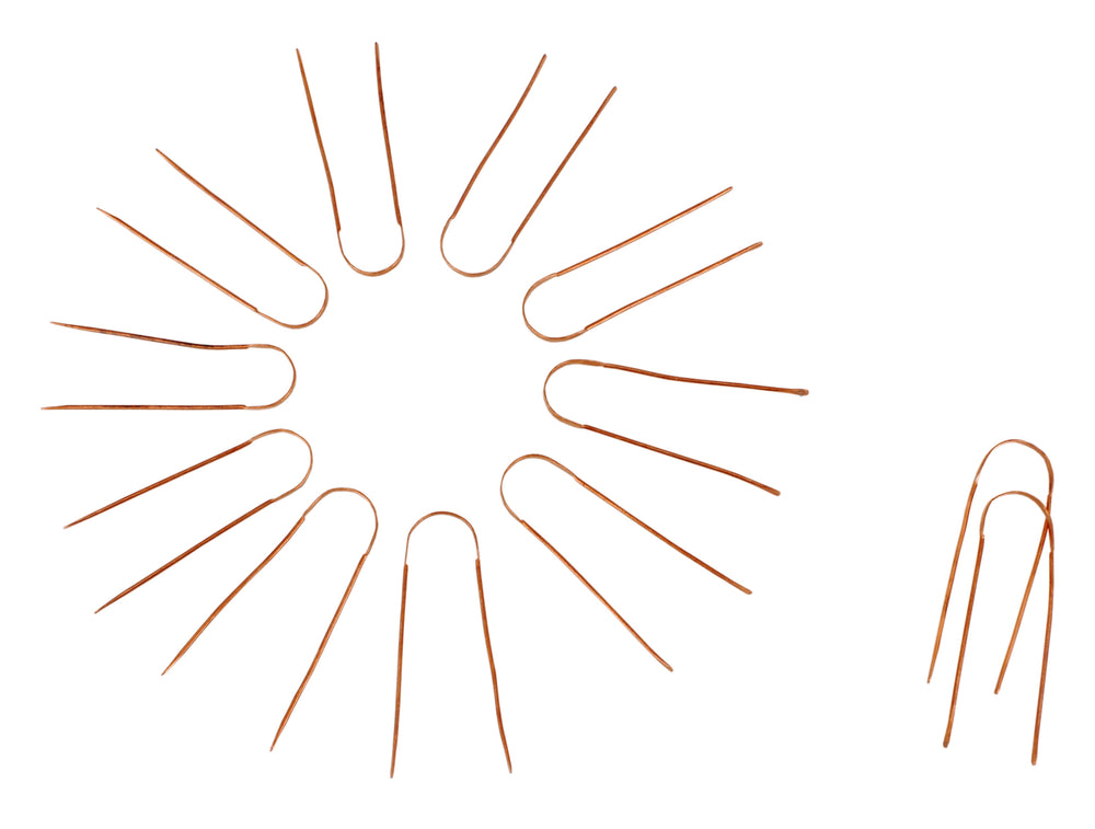 Set of 12 Copper Tongue Cleaner