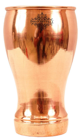 Pure Copper Wine Glass Goblet Tumbler Cup 490 ML
