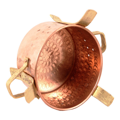 Copper Brass Food Warmer Sigri