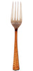 Steel Copper Fork (Set Of 6)
