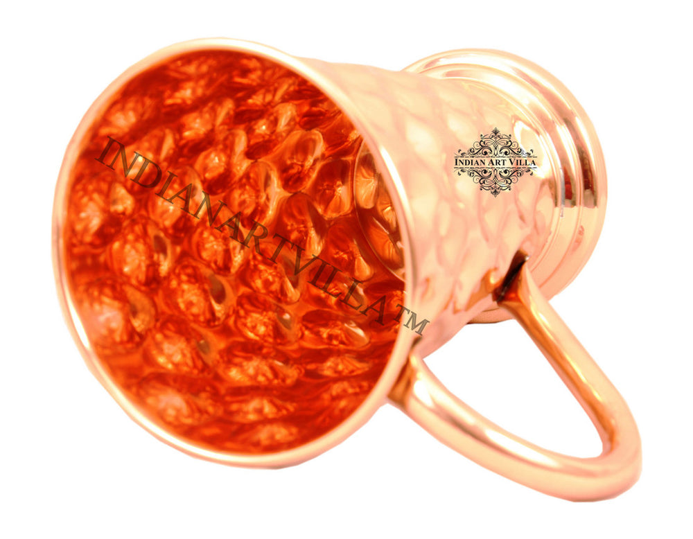 Copper Big Daimond Design Mug - 450 ML