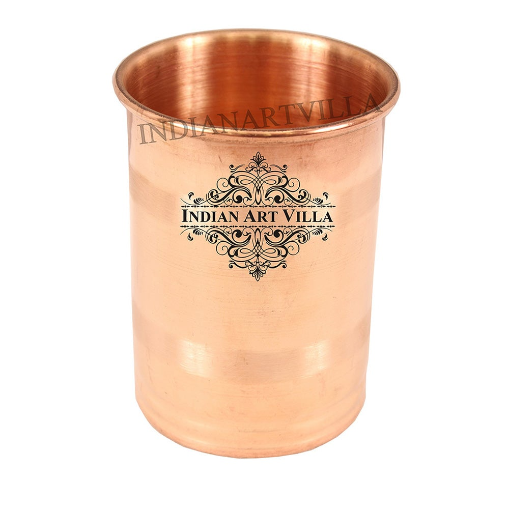 Copper Luxury Design Glass Goblet 150 ML