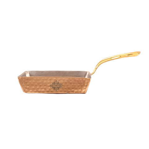 Steel Copper Hammered Pan 450 ML