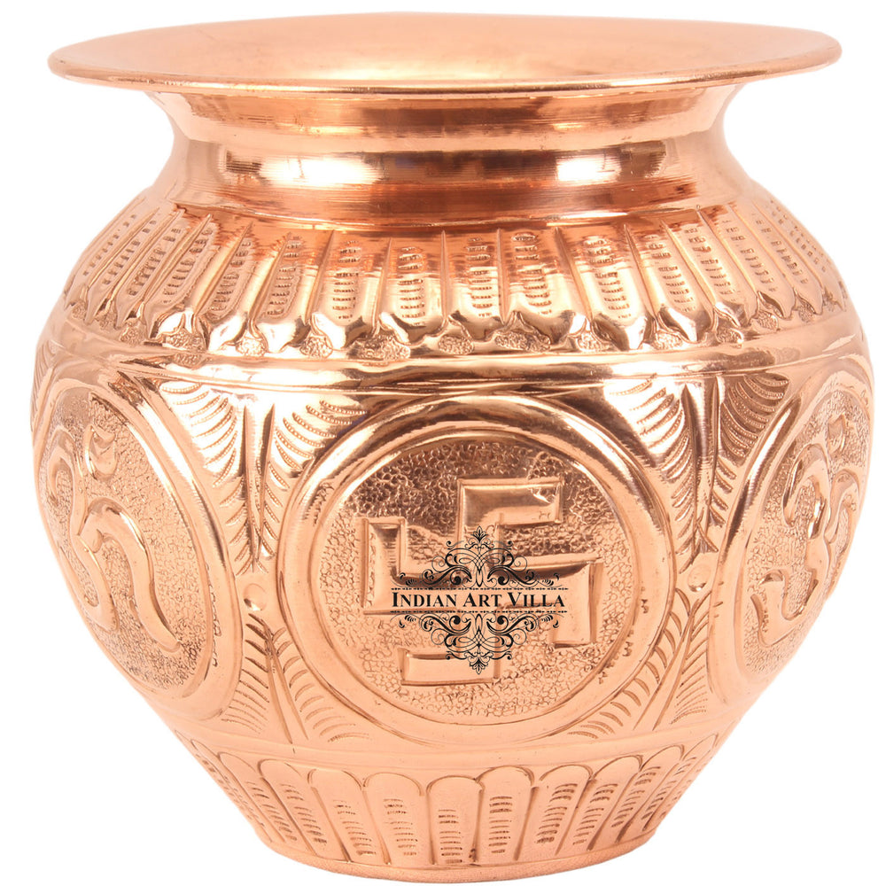 Copper Embossed lota