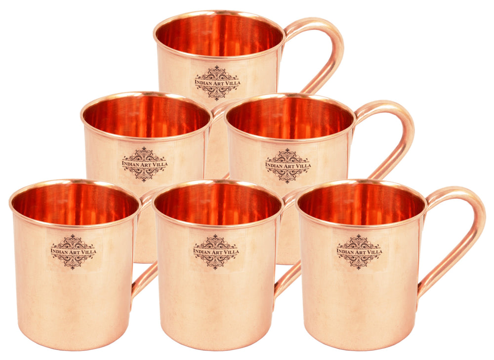 Copper Plain Design Moscow Mule Beer Mug Cup 415 ML