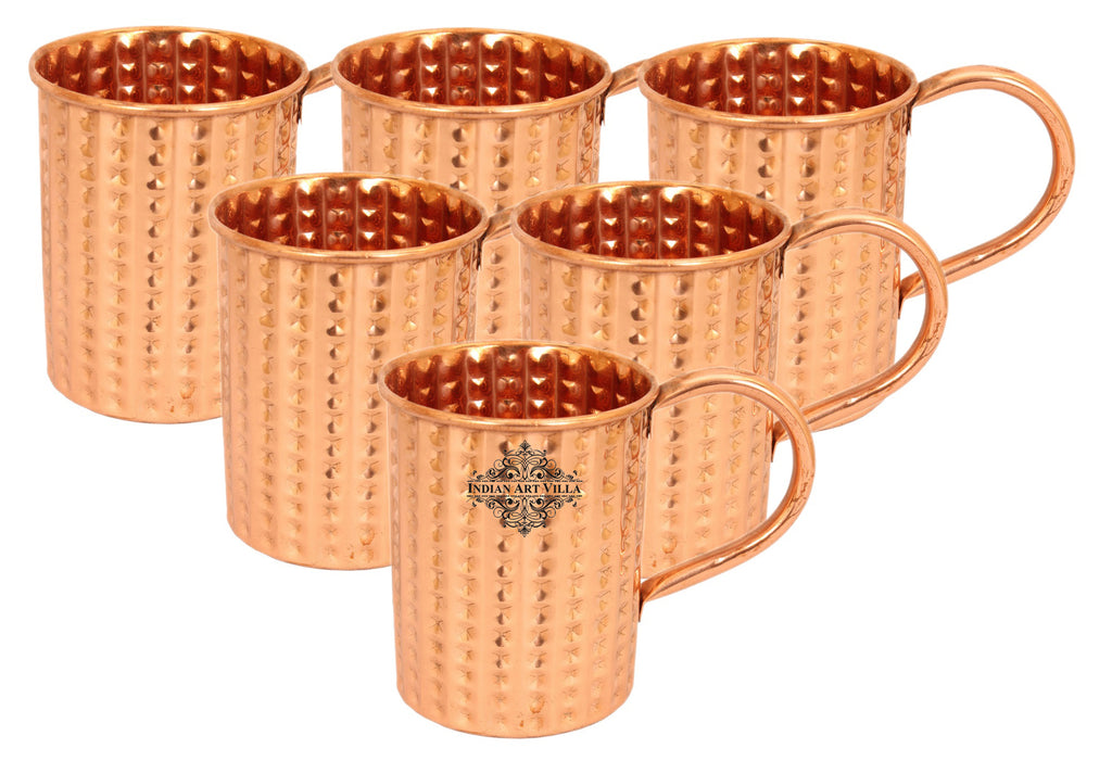 Copper Daimond Design Moscow Mule Cup