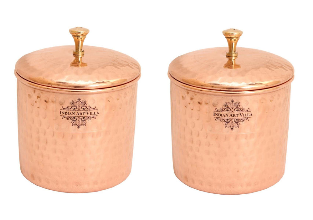 Copper Hammered Box, 700 ML