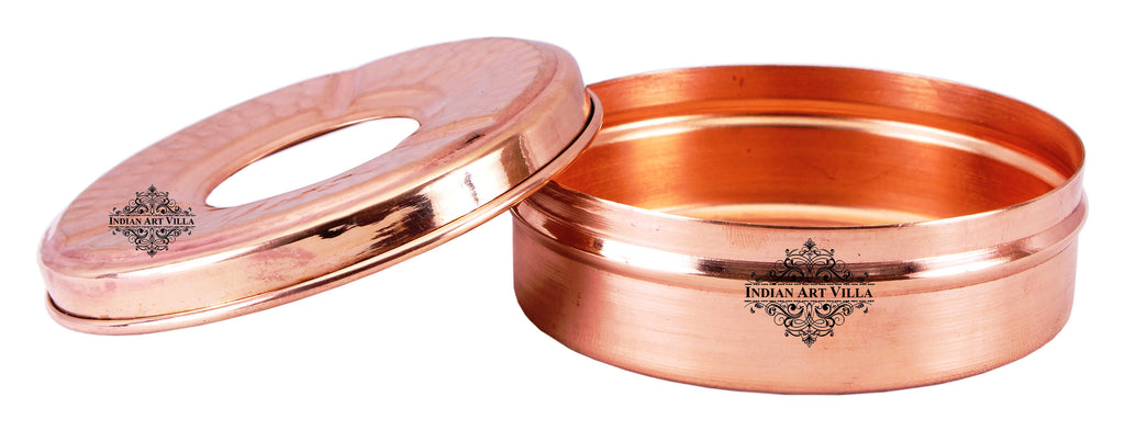 Copper Old Style Ashtray with 3 Cigerate Holders