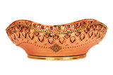 Brass Copper Handmade Designer Fruit Bowl