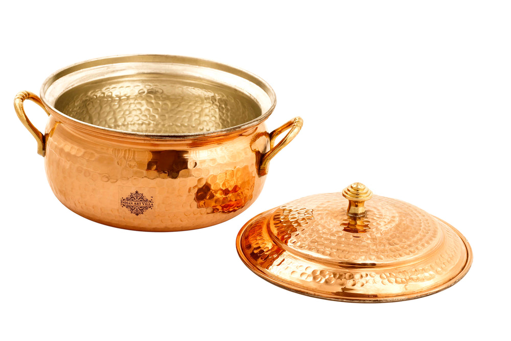 Copper Casserole with Tin Lining 1600ML | 1200