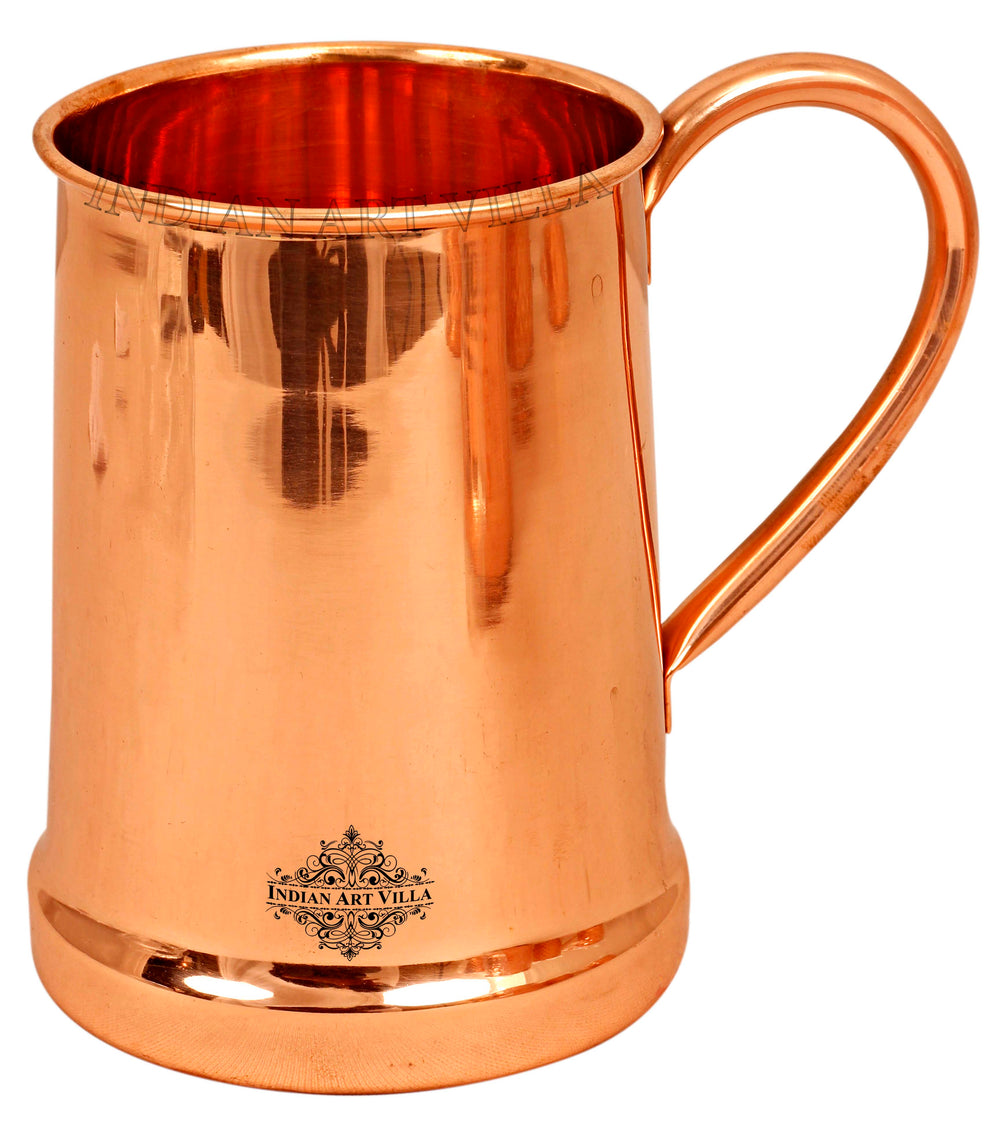 Copper Plain Design Beer Mug