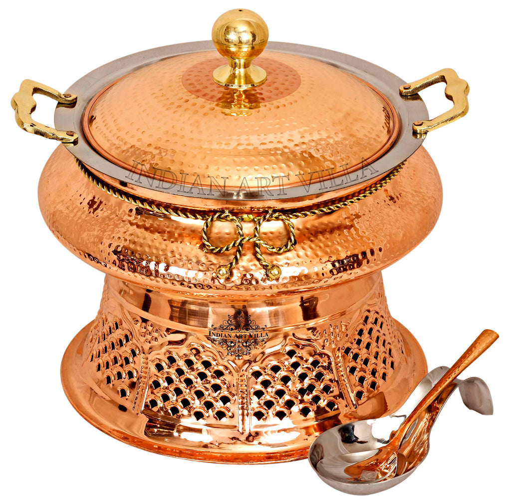 Steel Copper Chafing Dish