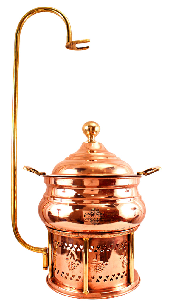 Steel Copper Chaffing Dish with Stand