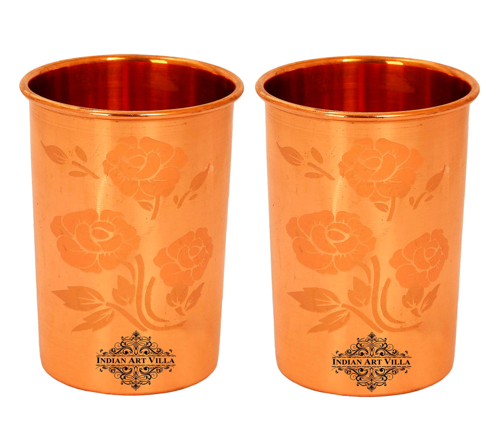 Pure Copper Glass Set of 2