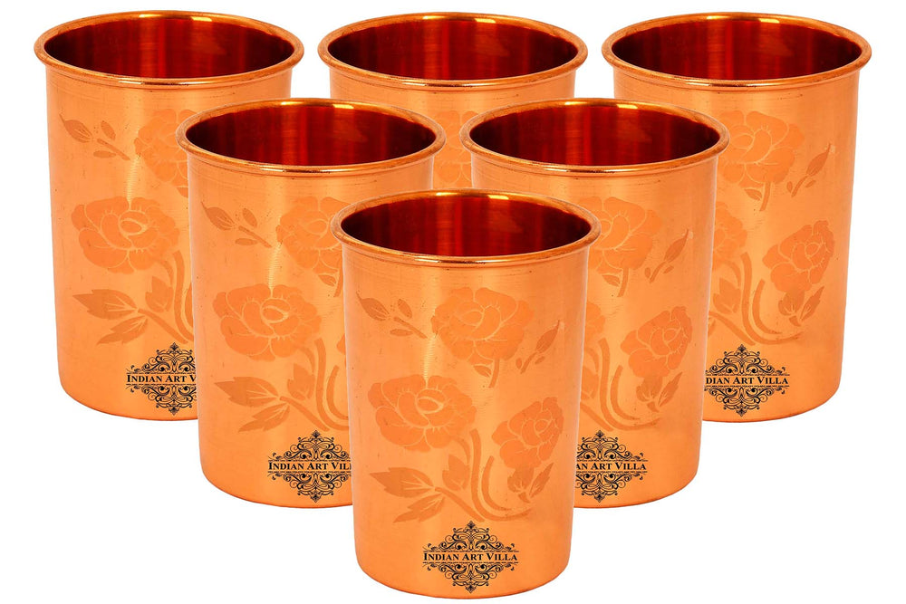 Pure Copper Glass Set of 6