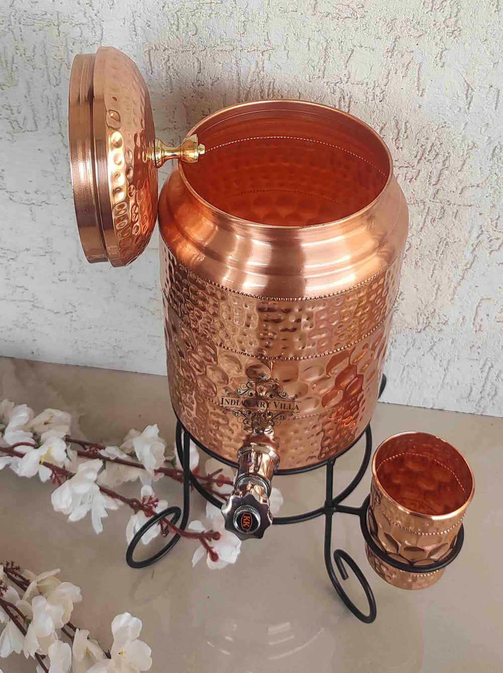 One should make it a habit of drinking water stored in copper utensils so as to keep themselves healthy.