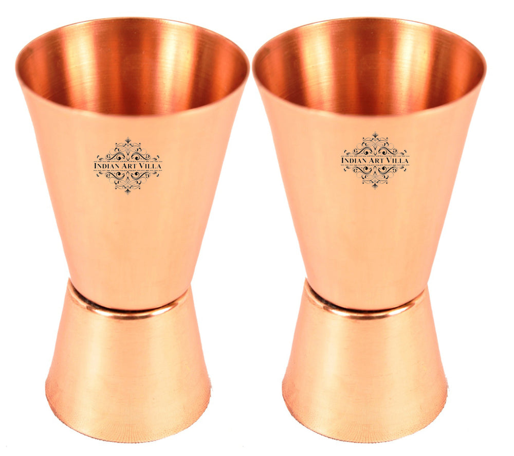 Copper Shot Jigger Glass 50 ML Set of