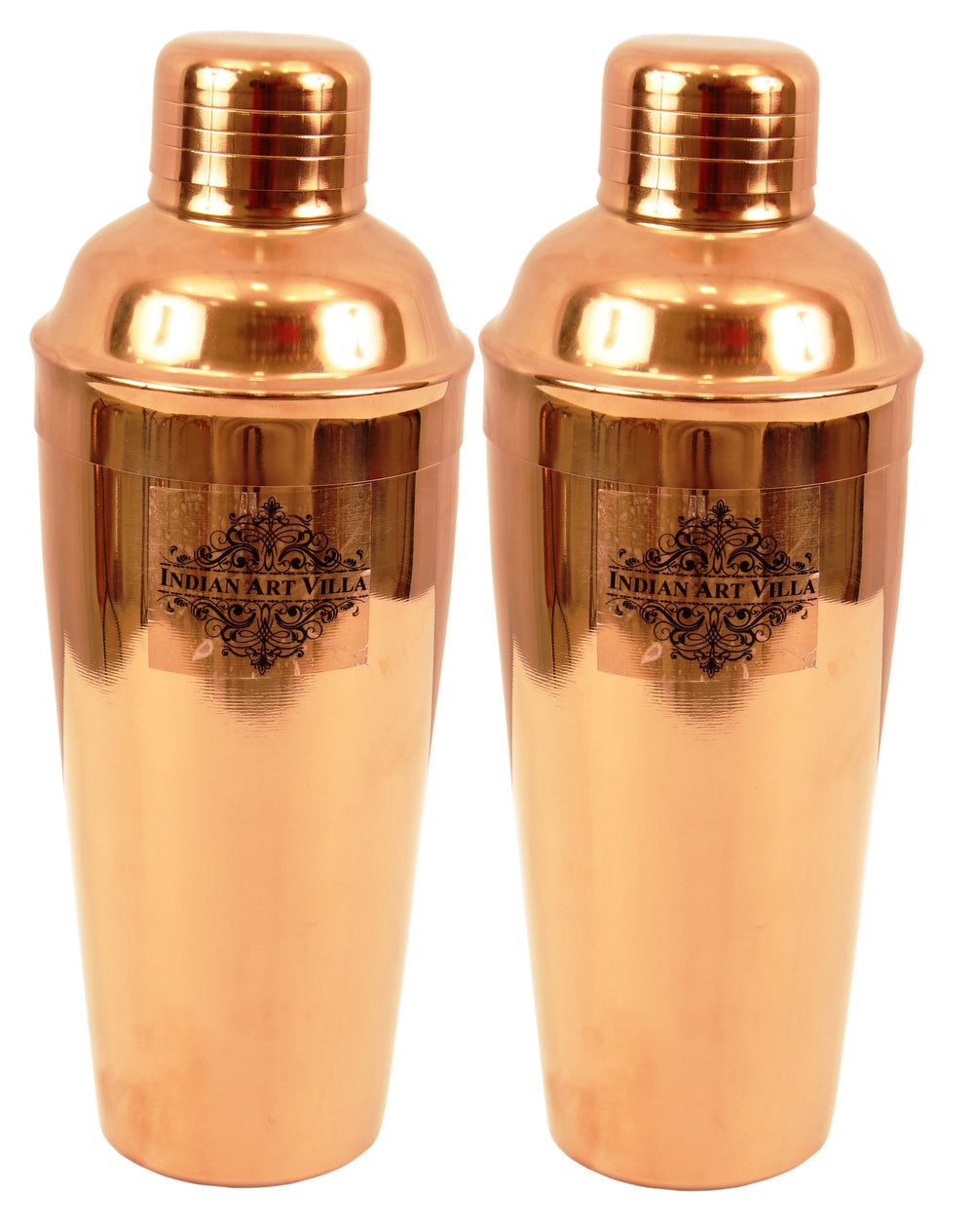 Copper Polish Steel Cocktail Wine Shaker 750 ML