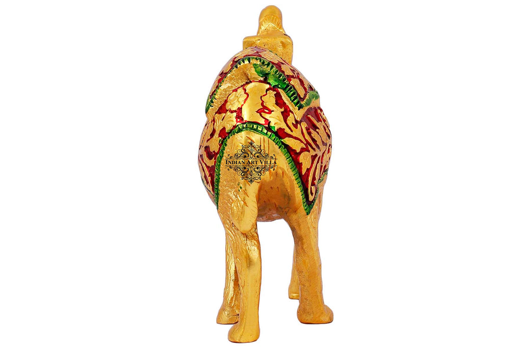 Aluminium Camel Showpiece For Home Decoration And Gift Purpose