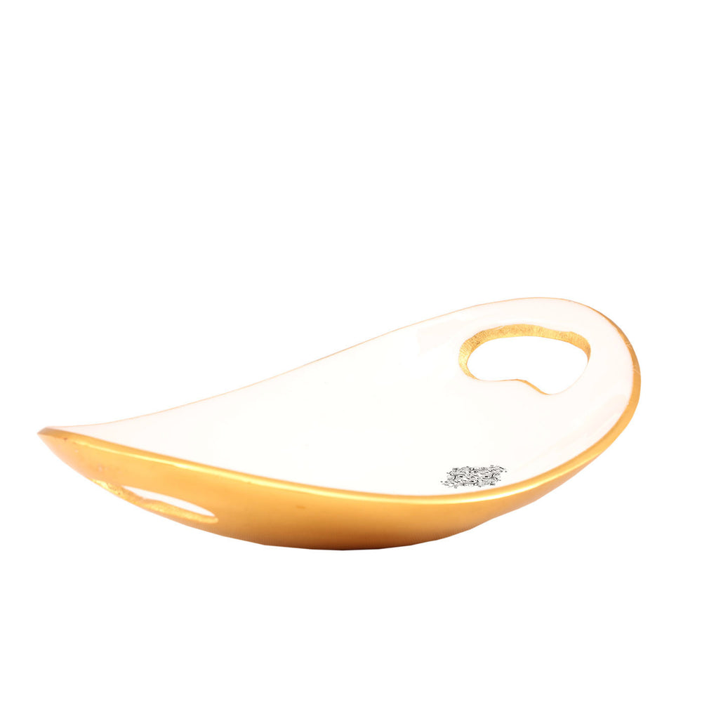Aluminium Ceremic Finish Fruit Basket