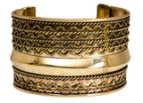 Brass Traditional Rare Design Kada Bracelet Bangle | Collectionable | Width 5 cms