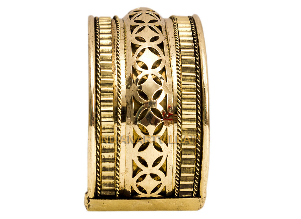 Brass Star Design Kada - 3.5 cms