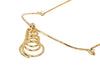 Brass Handmade Pendant with Chain Jewellery