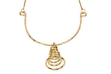 Brass Handmade Pendant with Chain