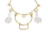 Brass Necklace Neckpiece
