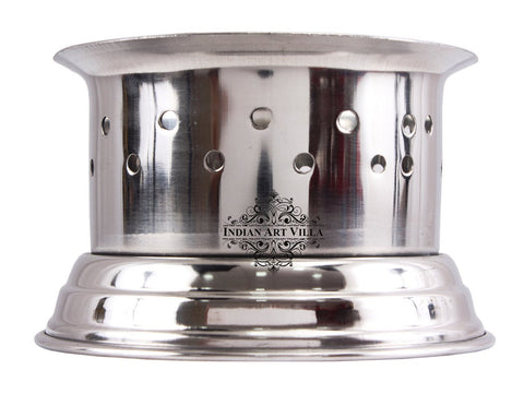 Steel Sigdi Food Warmer Angeeth