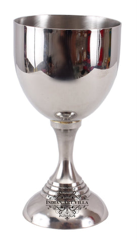 Steel Wine Glass Goblet Cup Serving Drinking Wine Whisky