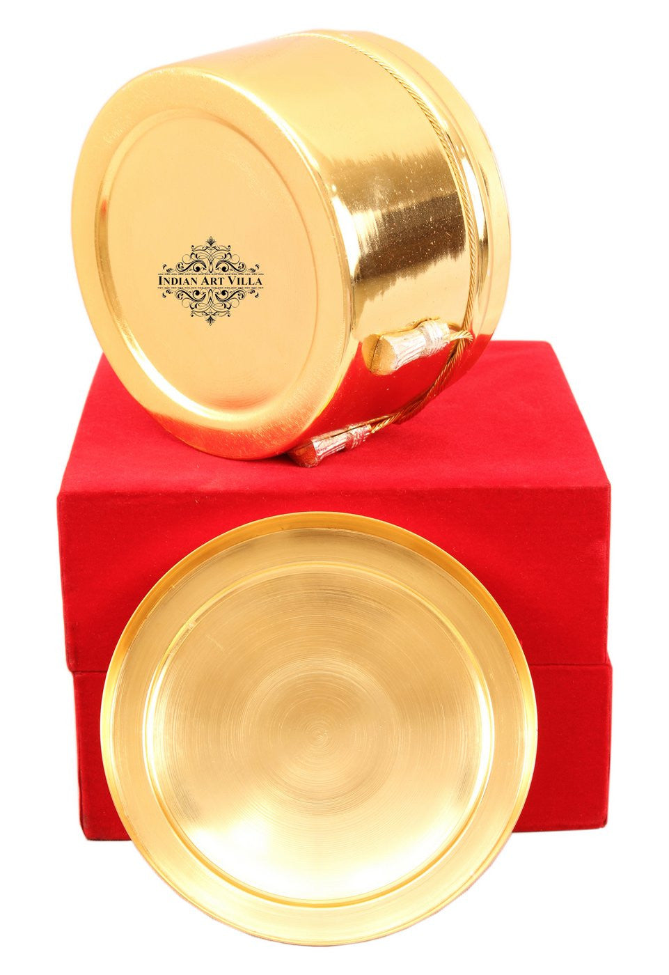 Silver Plated Gold Polish Dry Fruit Box