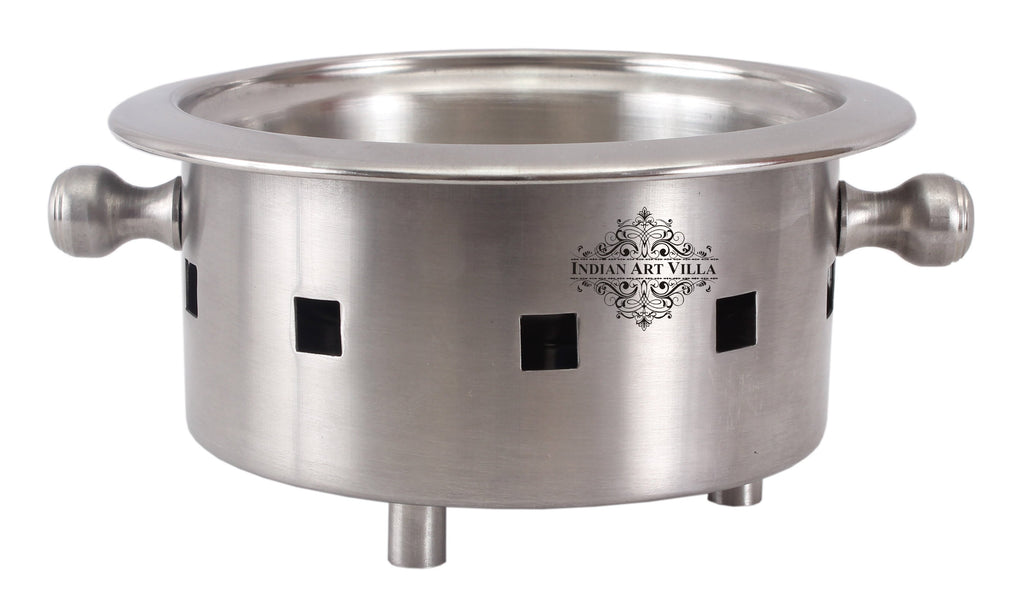 Steel Snack Warmer with Fuel Bowl|Serving Dishes