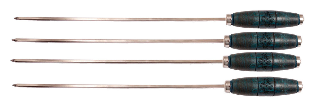 "Brass Barbecue Sticks - Length :-16.3""Inch"