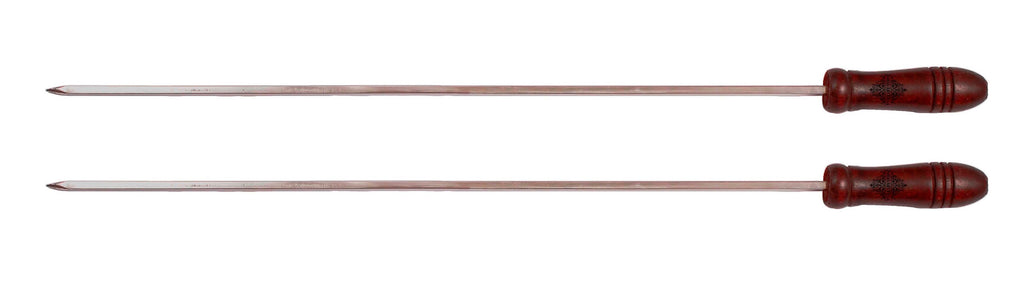 "Brass Barbecue Sticks - Length :-16.8""Inch"