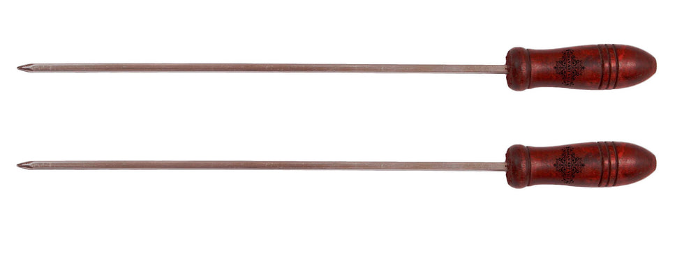 "Brass Barbecue Sticks - Length :-13.2""Inch"