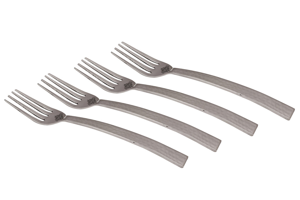 Stainless Steel New Curve Hammer Fork Cutlery Set -7.5'' Inch
