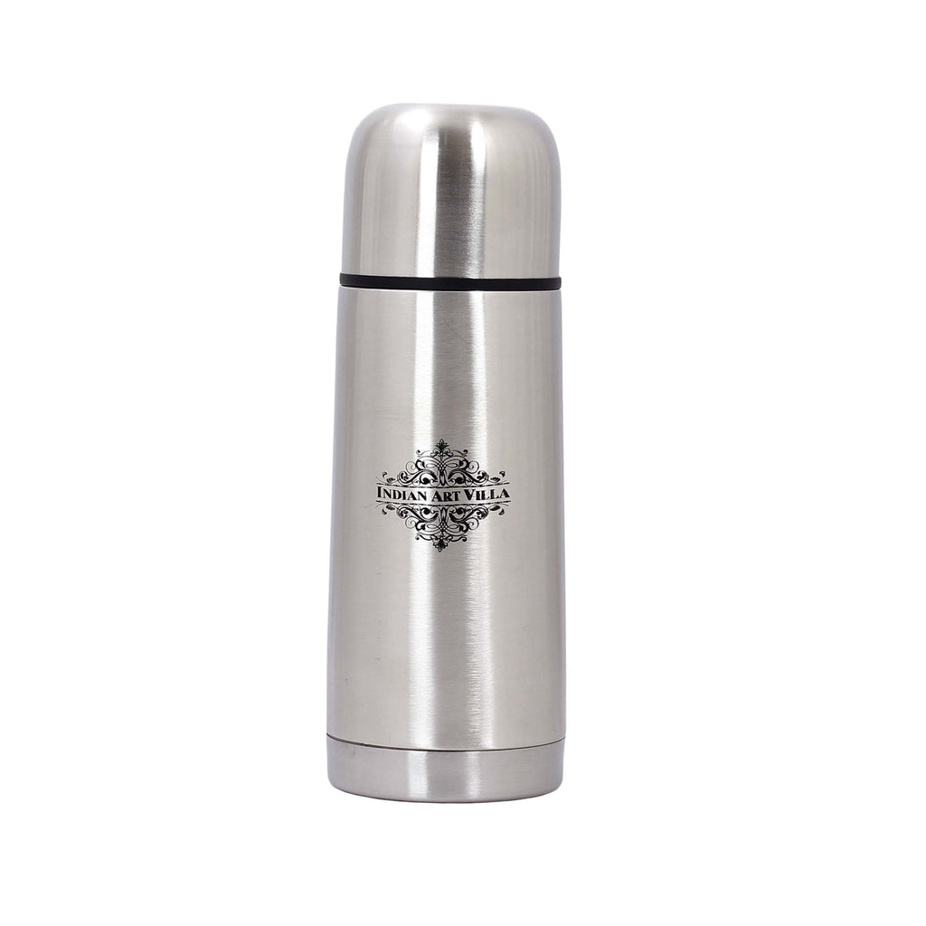 Steel Insulated Vaccum Bottle With Flip Lid, 300 ML