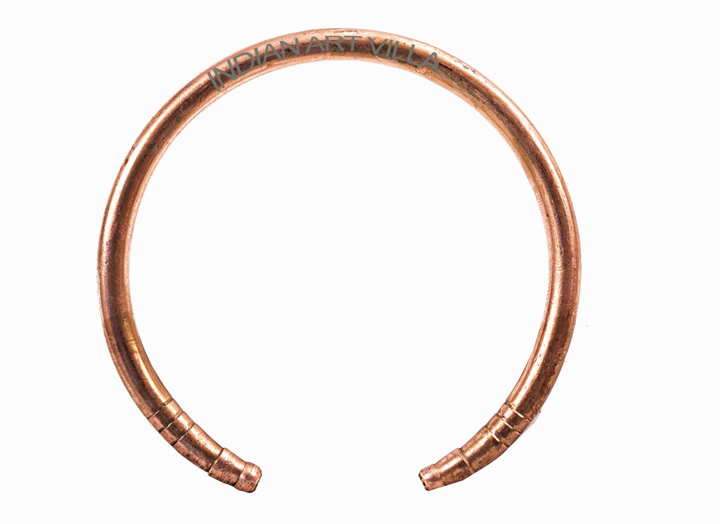 Copper Round Open Mouth Kada