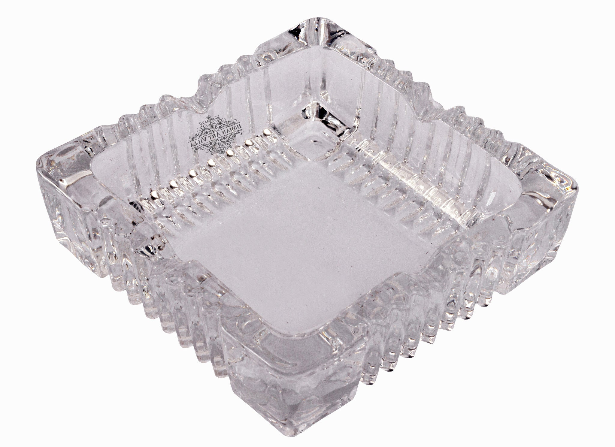 Crystal Designer quare Bowl for Tortoise