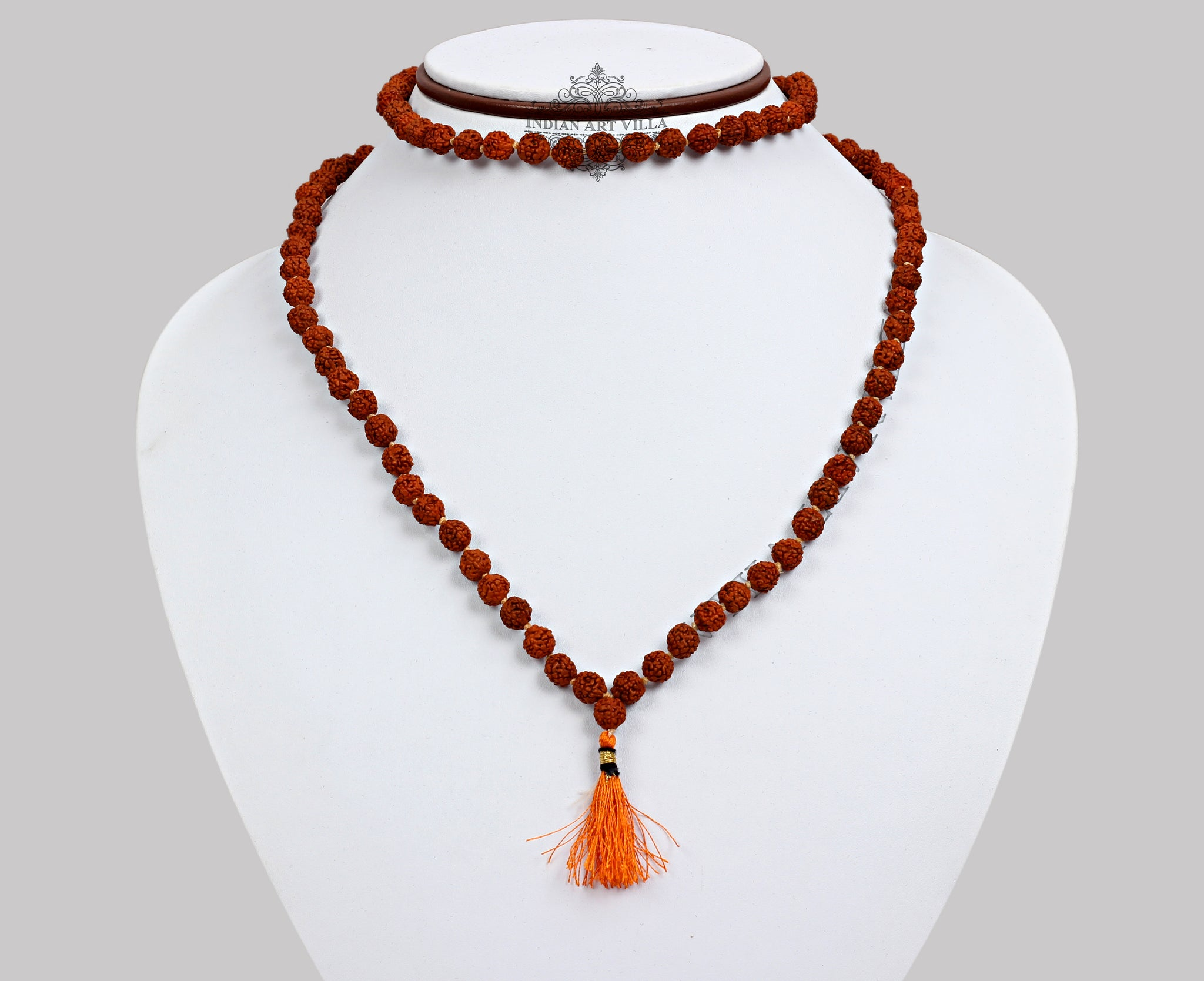 Rudraksh Mala Necklace, Men Accessory Gift Item, Jewellery