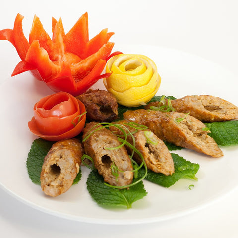 Chicken Kadhai Seekh Kebab