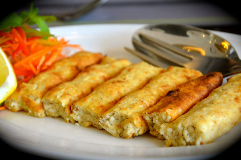 Creamy Chicken n Cheese Kebab