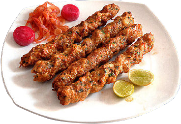 Chicken Masala Seekh Kebab